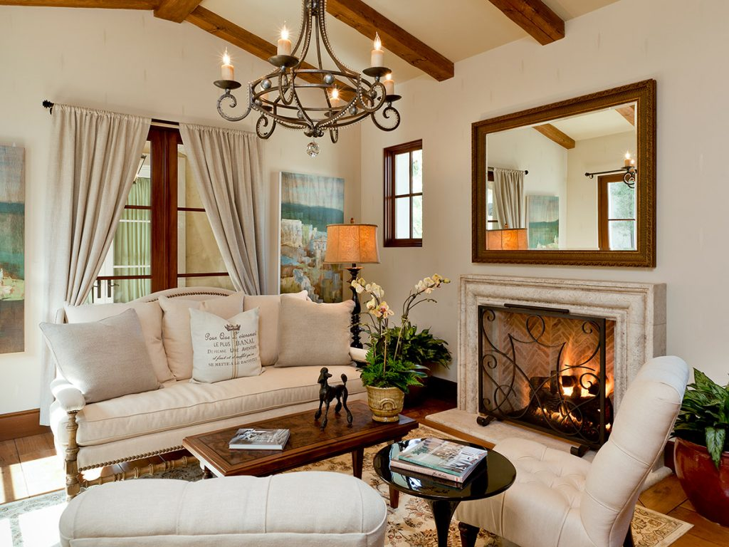 French Provincial Styled Design Living Room