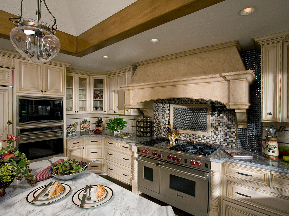 Tudor Style Kitchen Design, Higgins House