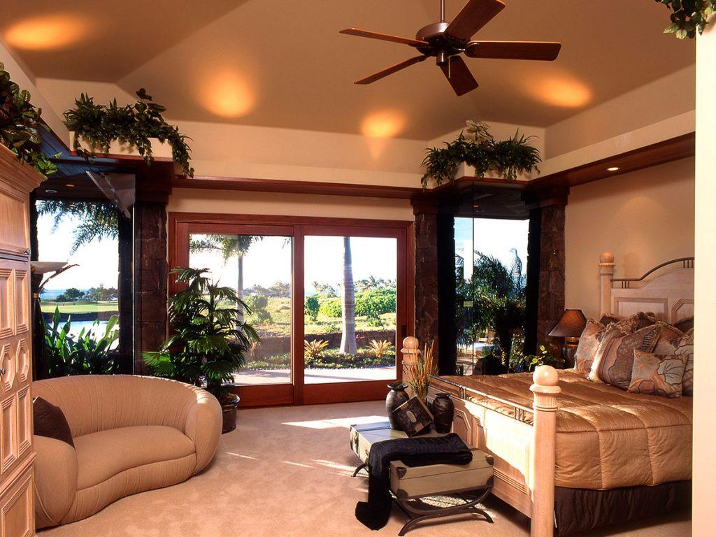 Mauni Lani Estate Master Bedroom Design