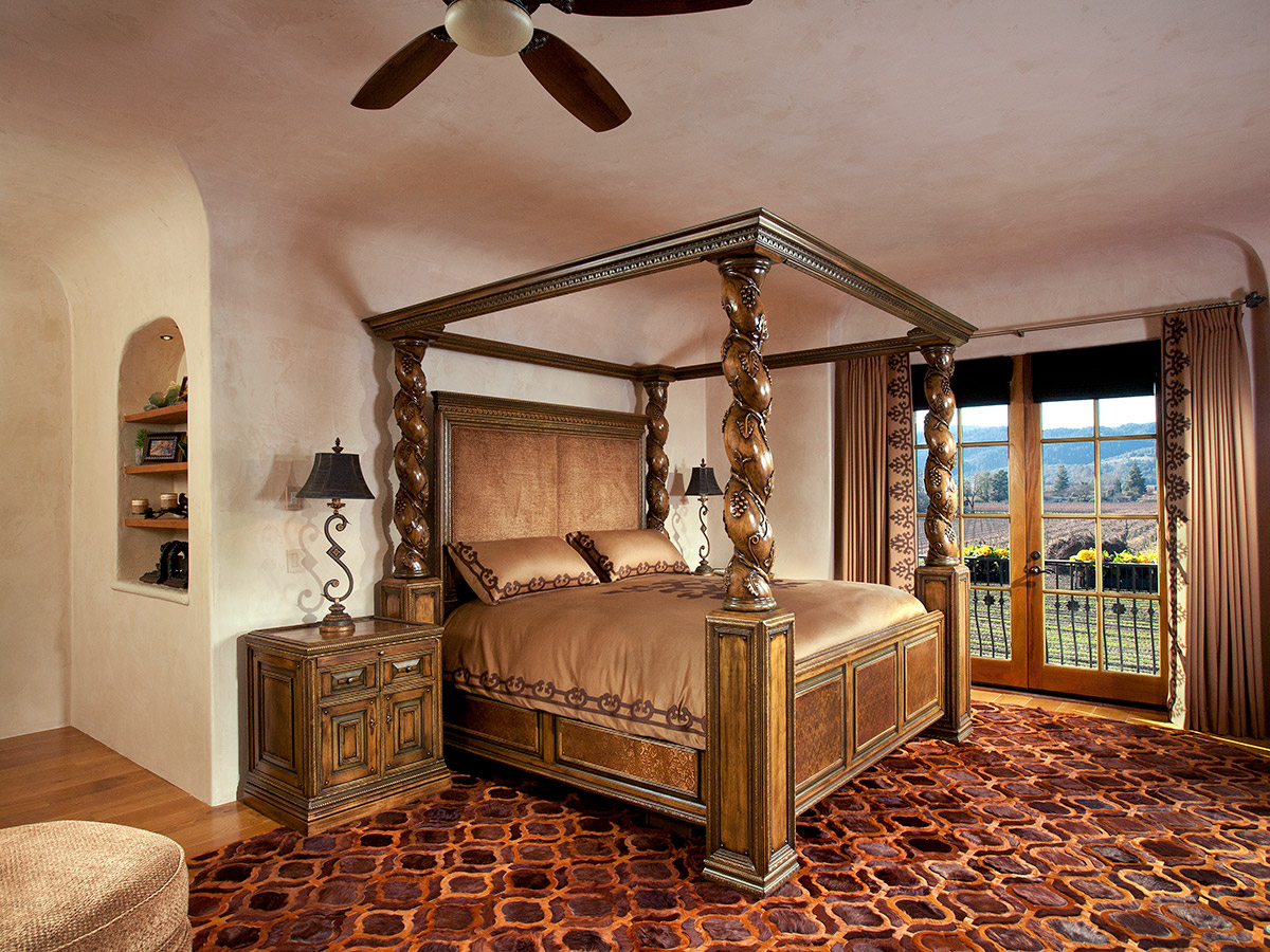 French Chateaux Style Bedroom After Shot