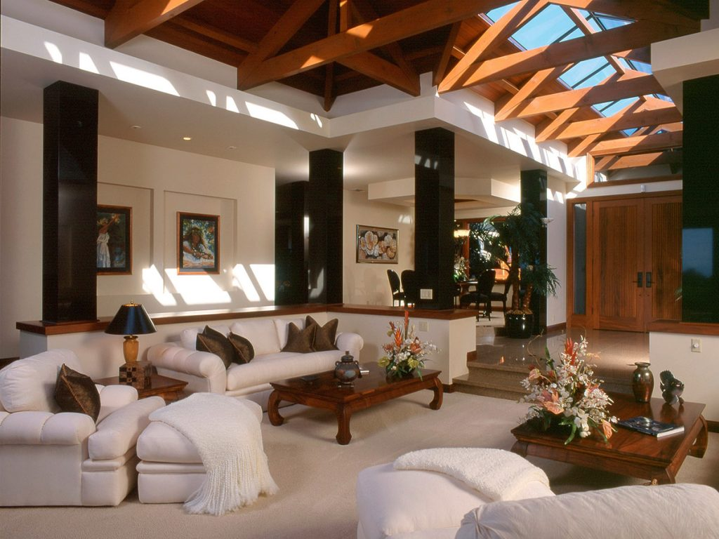 Mauna Lani Estate Living Room Design
