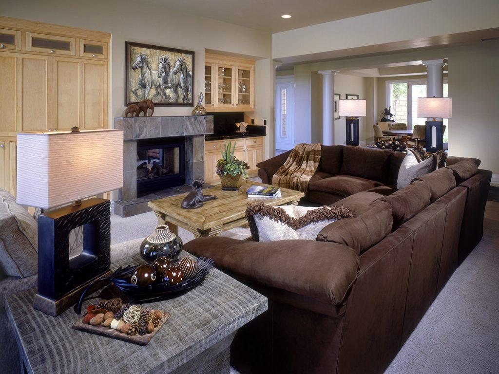 Henderson Family Room Design