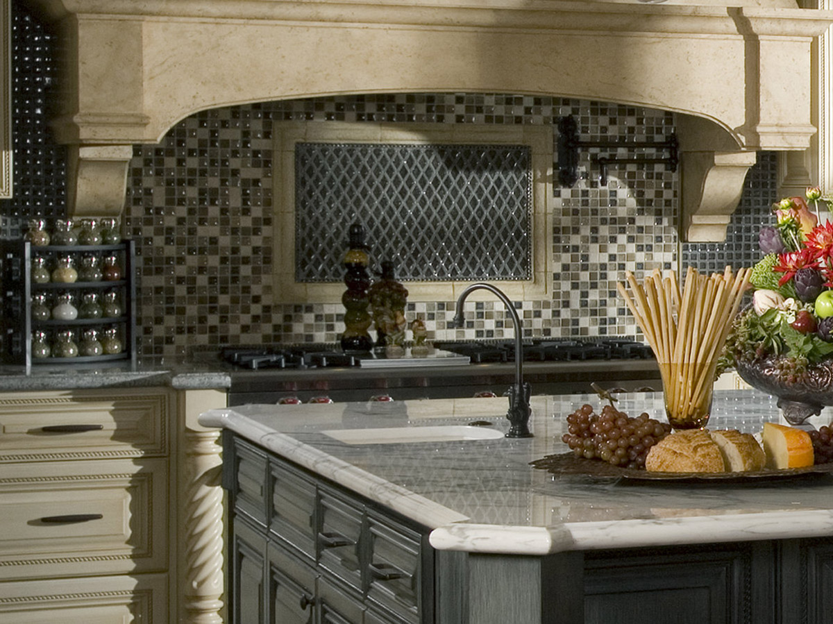 Tudor Style Higgins Kitchen Close Up