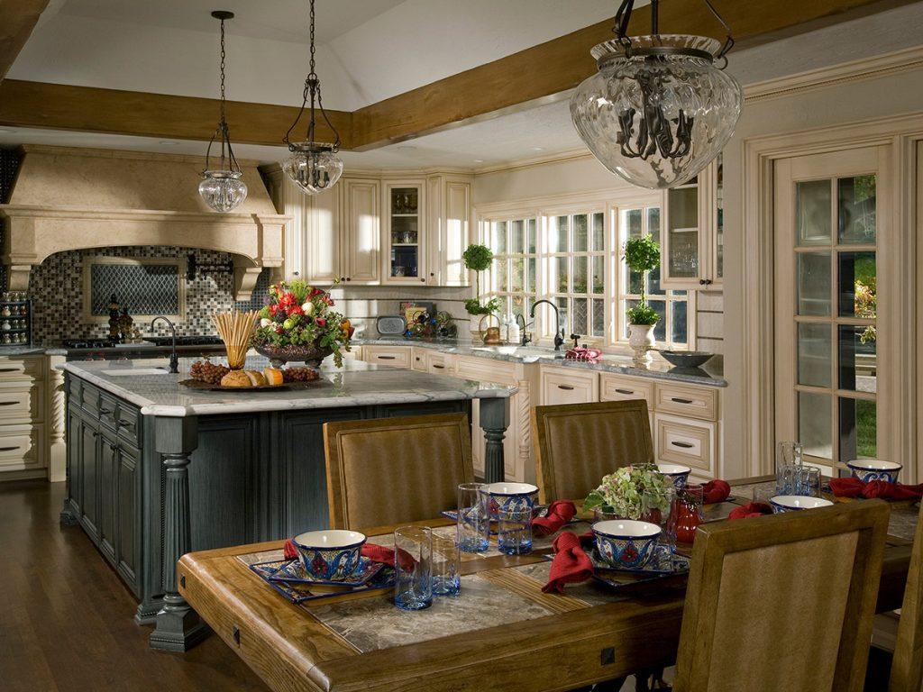 Higgins kitchen after