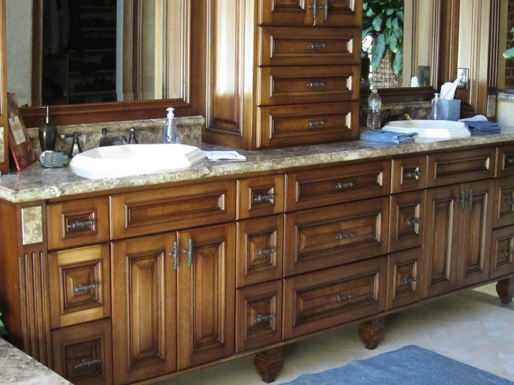 Higgins Master Bath Sink Details
