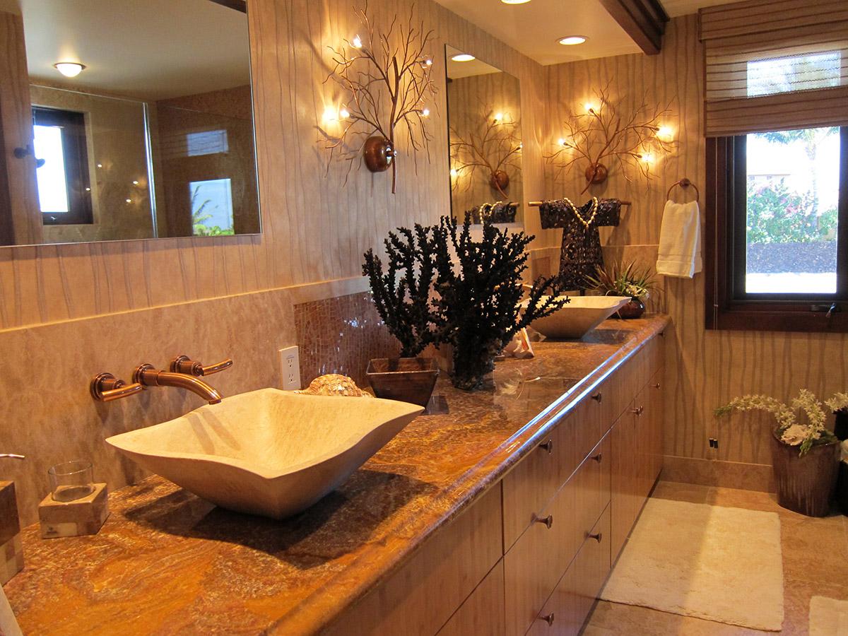 Lanai Bathroom Design, Gayle Lee Design