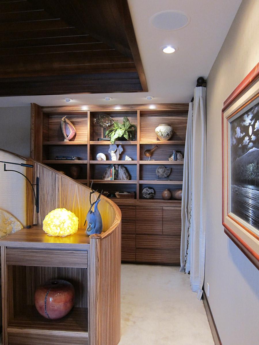 Bedroom Shelf Design, Tropical Style