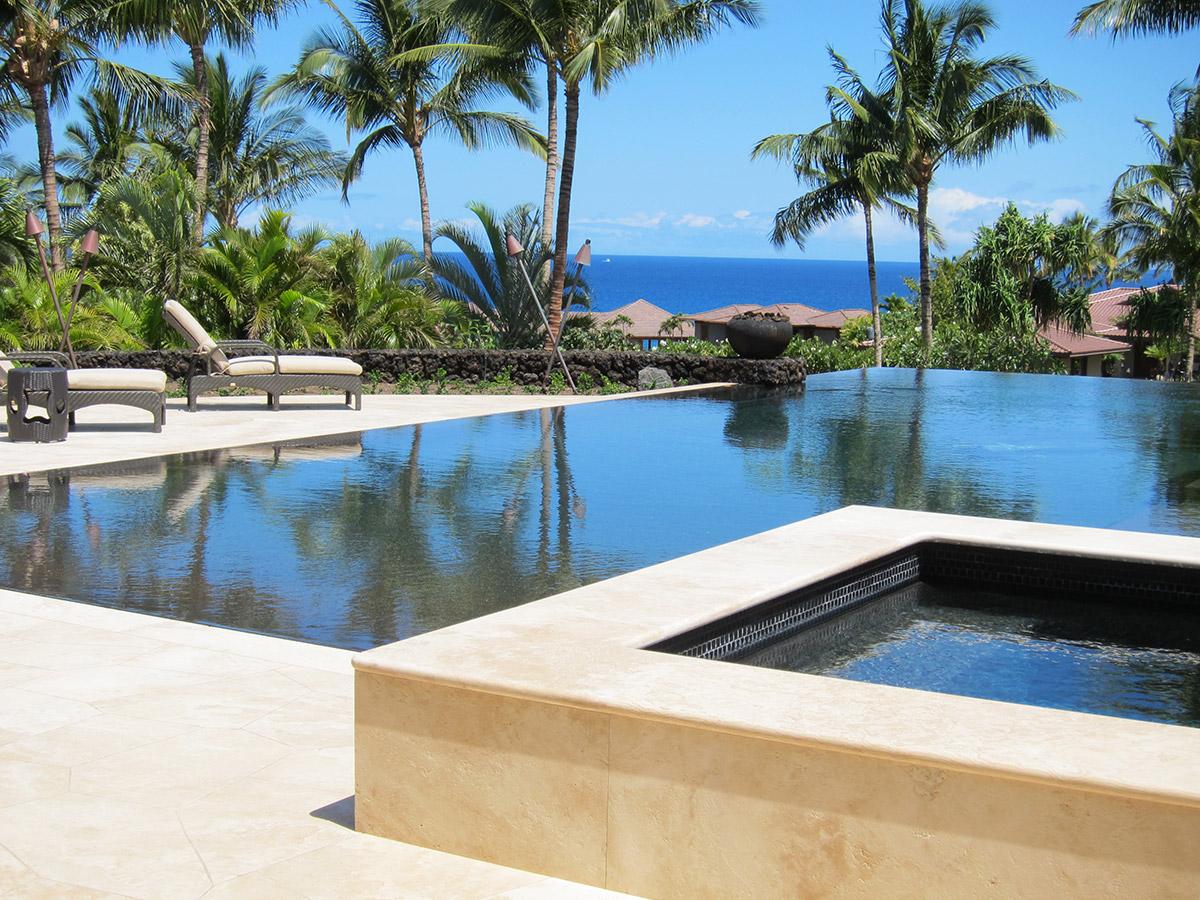 Infinity Pool in Hawaii, Gayle Lee Design
