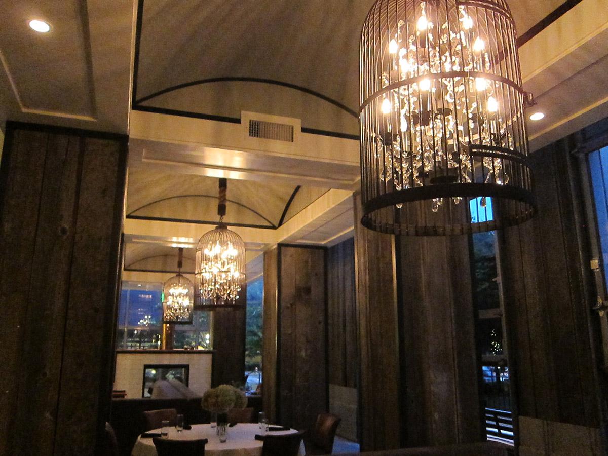 Interior Designs Restaurant Chandelier Hallway