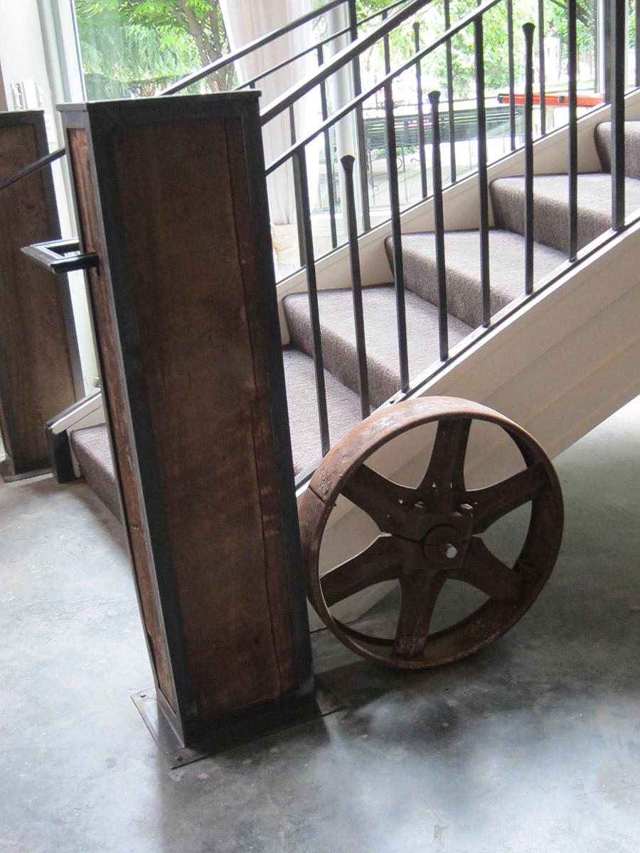 Interior Designs Restaurant Stair Wheel