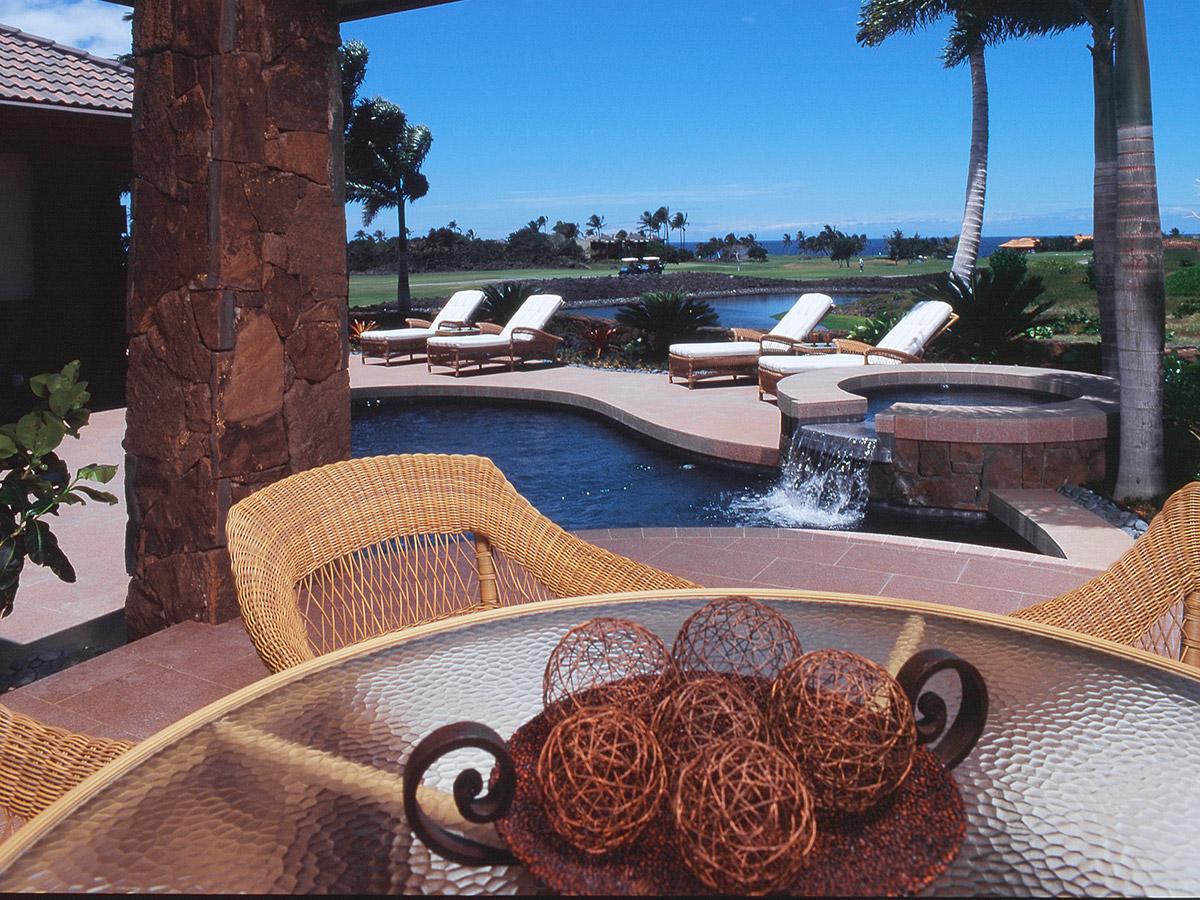 Beach Patio View Design, Hawaii