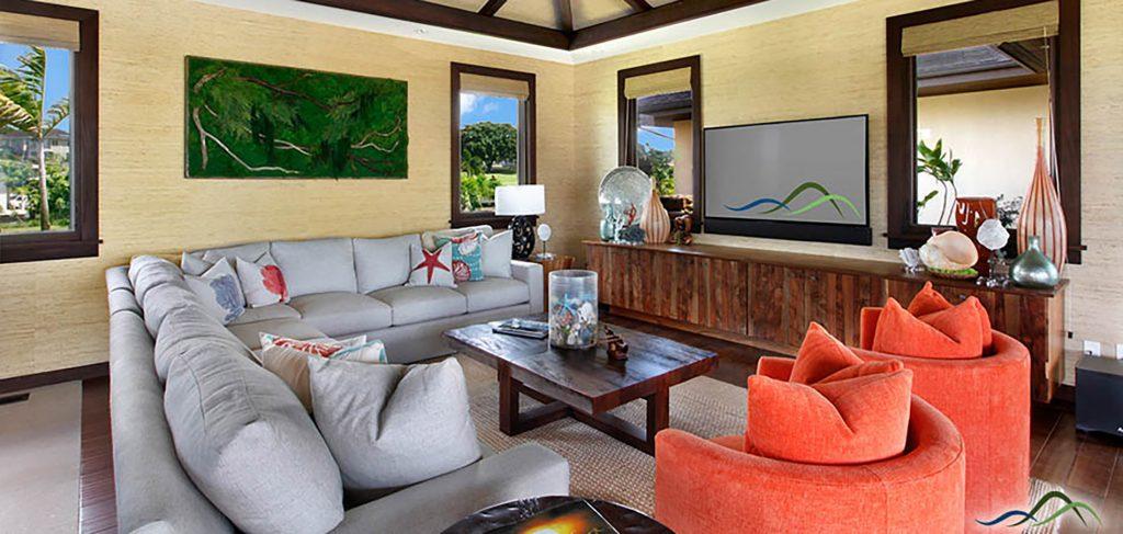 Nautical Living Room Design
