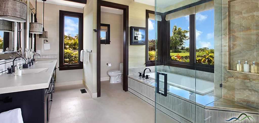Master Bathroom Lanai Design