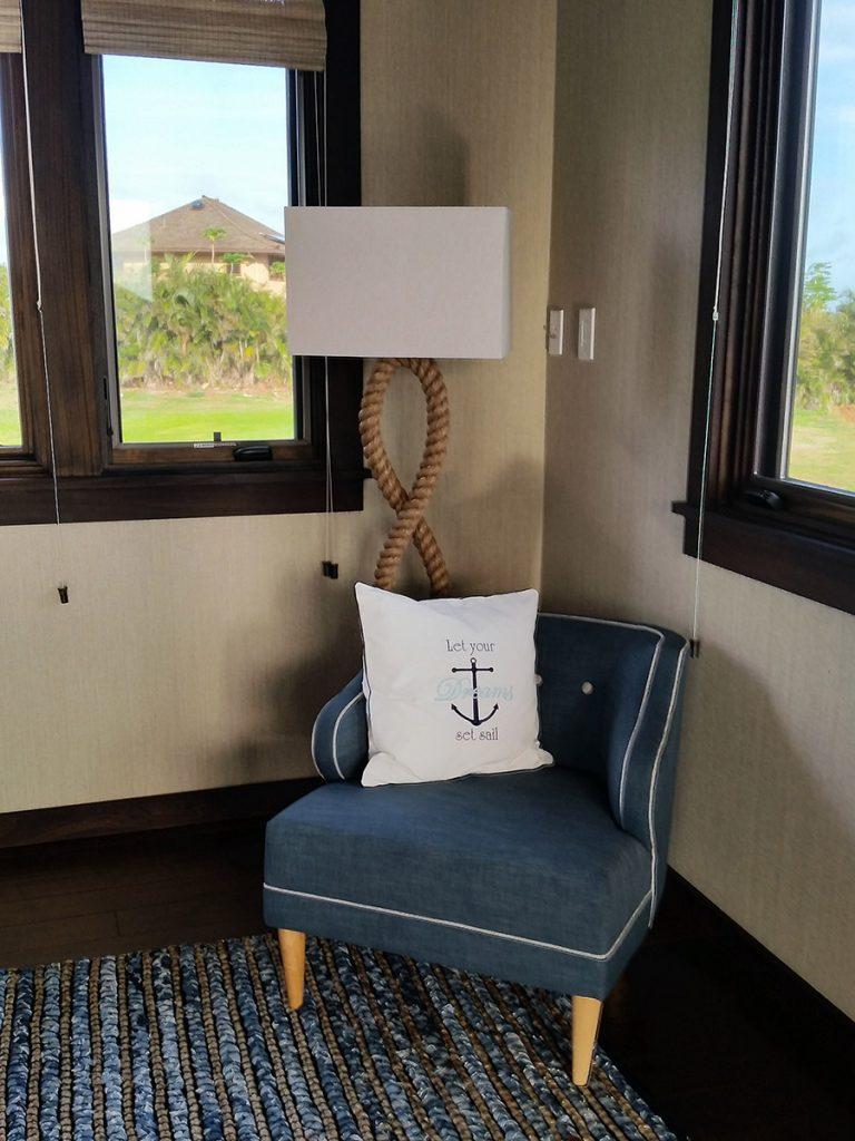 Nautical Window Chair Design