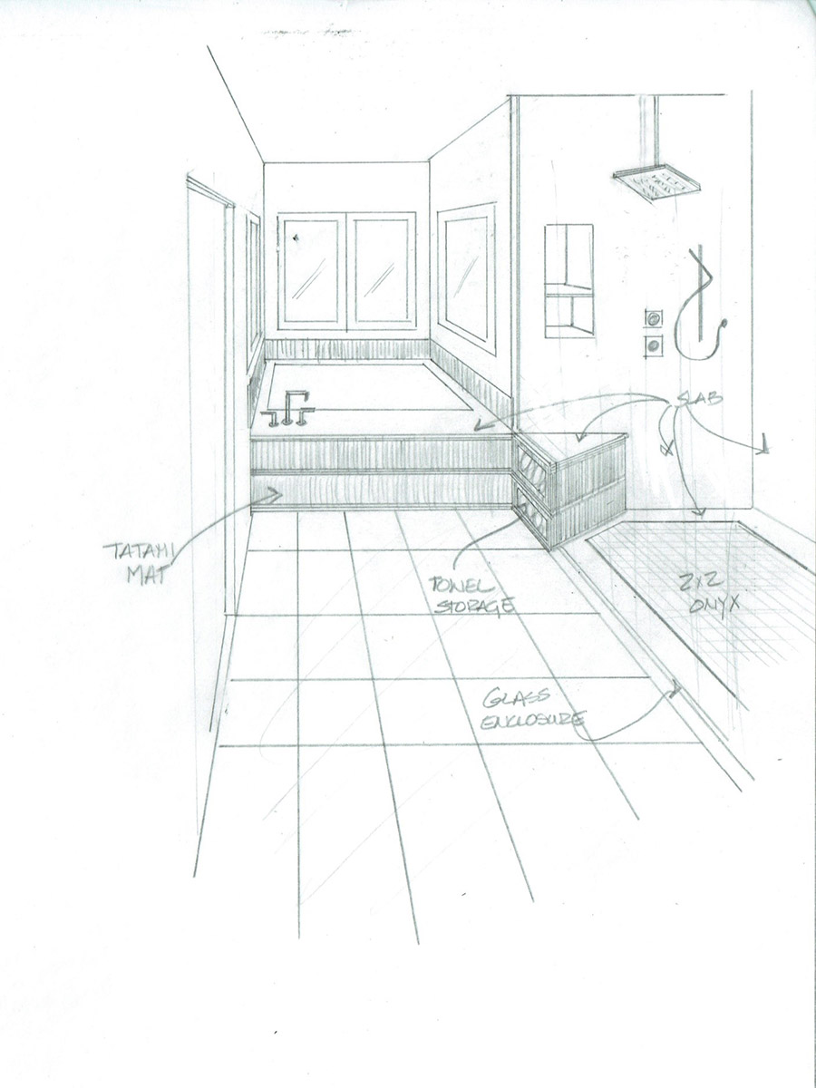 New Construction Drawing by Gayle Lee