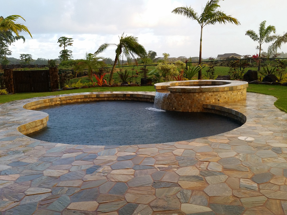 Outdoor Pool Hawaii