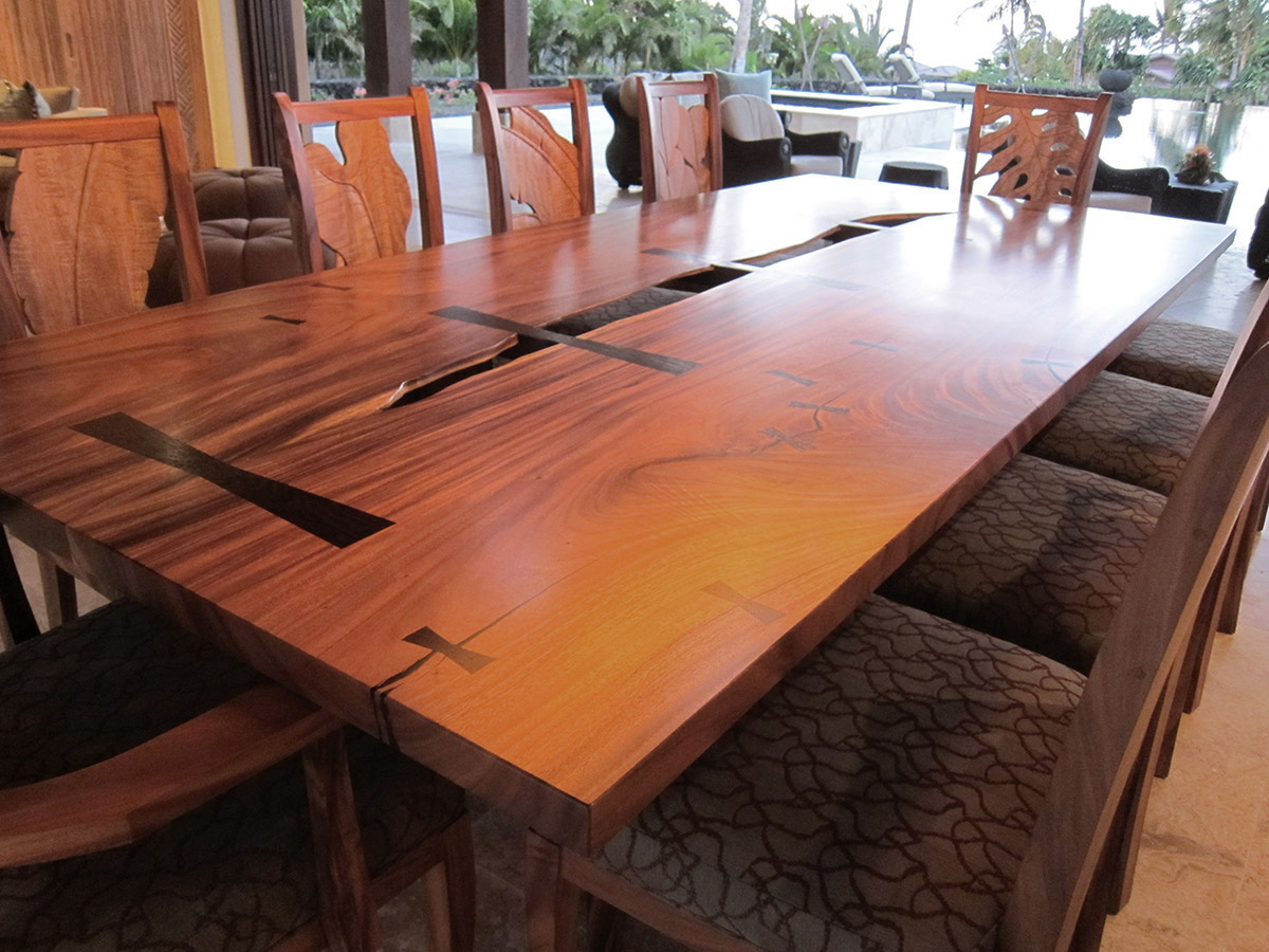 Tropical Designed Custom Table, Gayle Lee Designs