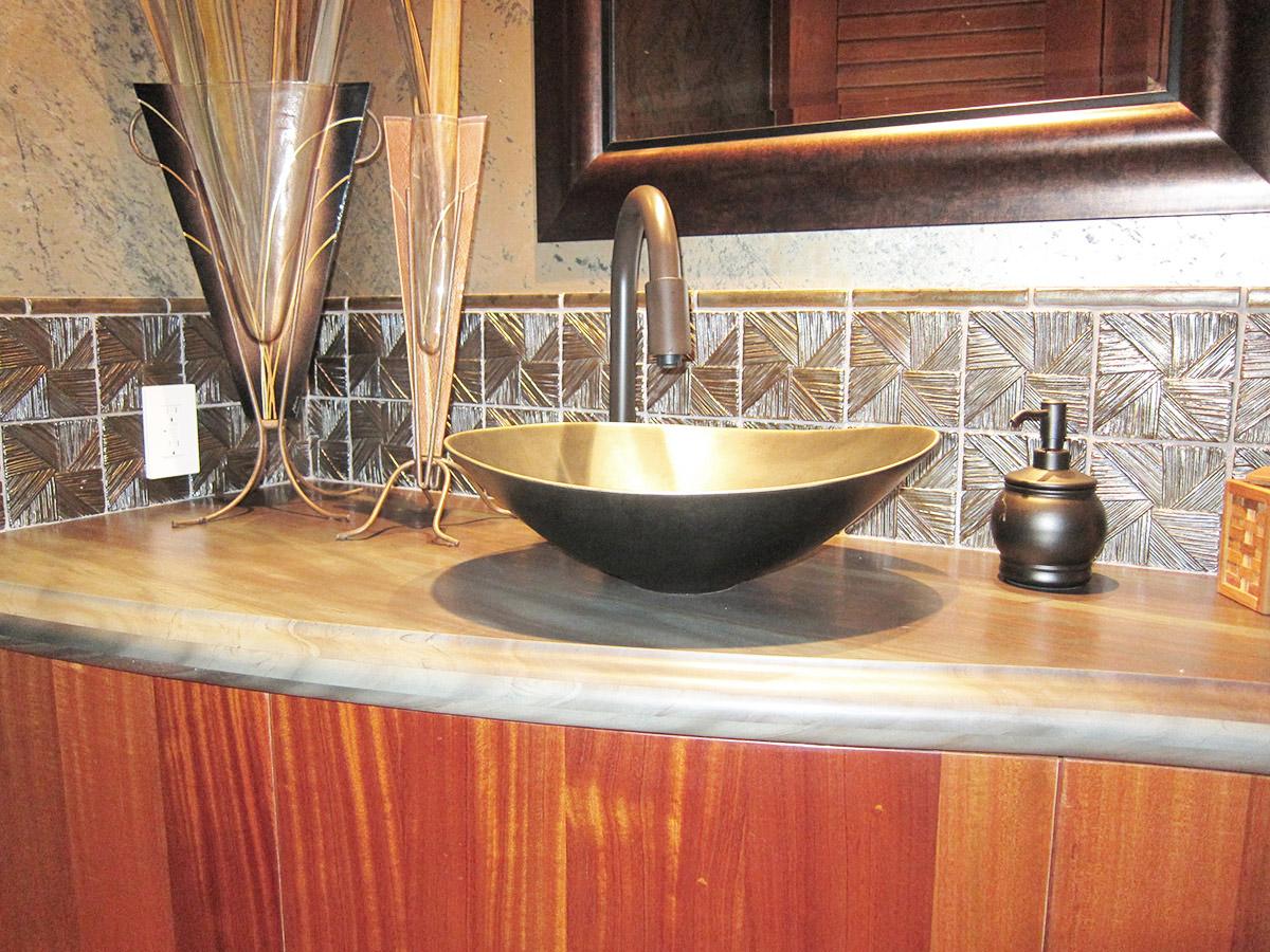 Tropical Sink Design, Gayle Lee Design
