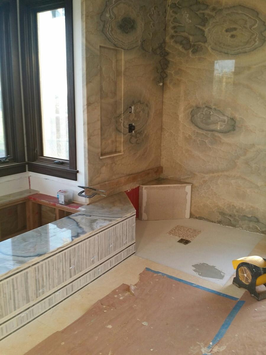 Construction On Bathroom Project