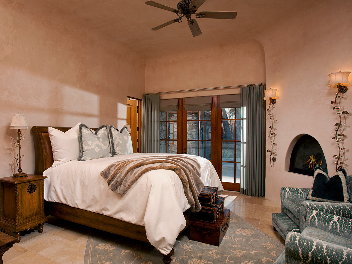 French Chateaux Guest Bedroom